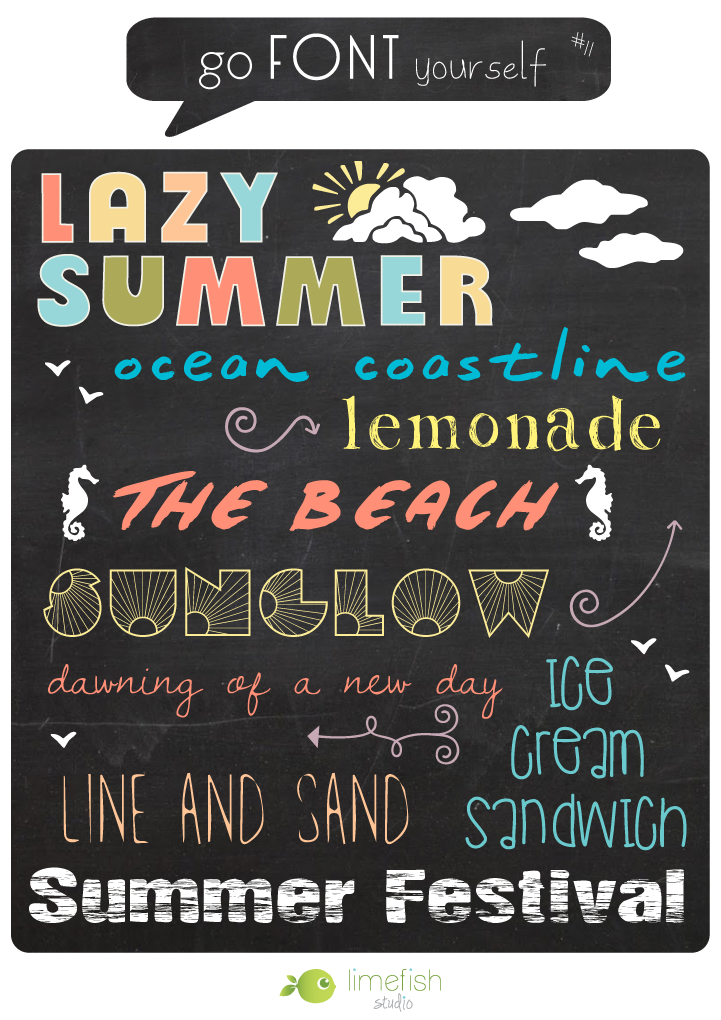 limefish-studio-Go-Font-Yourself-11-LazySummer