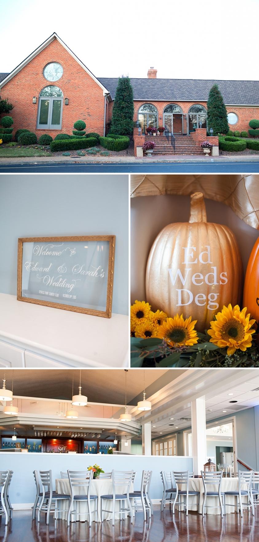 Limefish Studio Photography | Sarah + Ed | Cypress Point Country Club Wedding | Virginia Beach | Fall Wedding