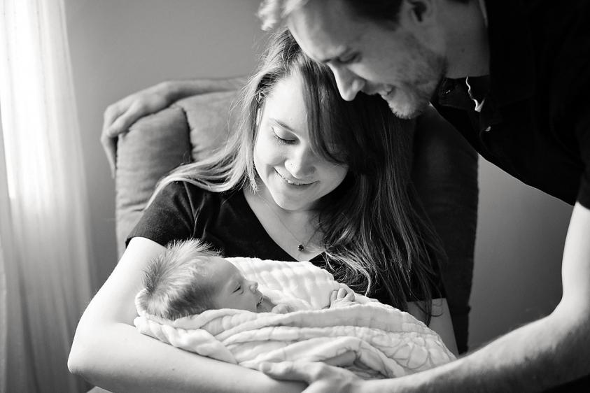 Limefish Studio Photography | Violet Newborn Photos | Northern Virginia