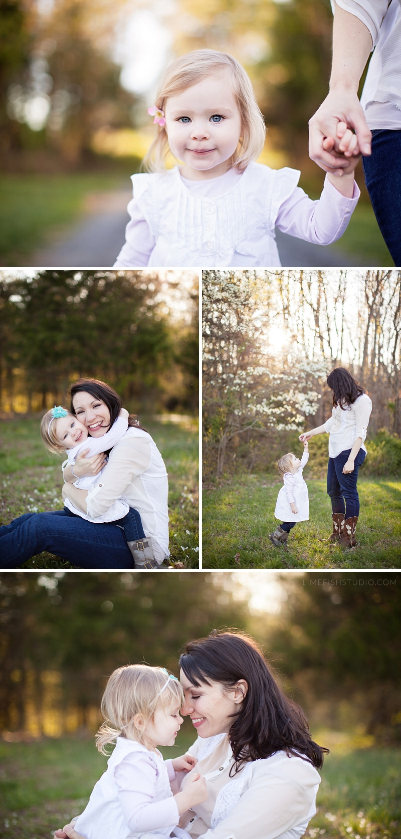 Limefish Studio Photography - Mommy & Me Session - Lake Monticello