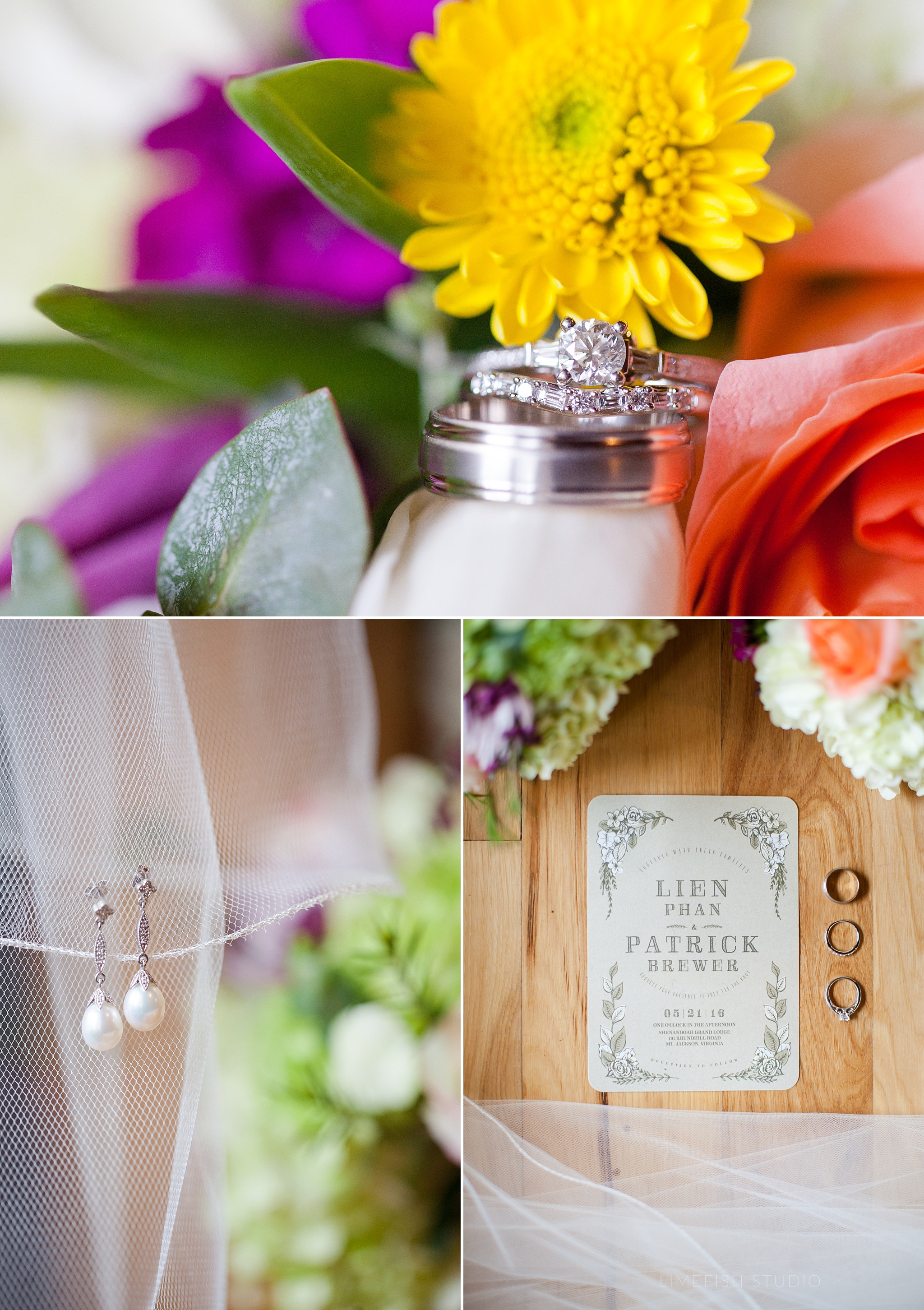 Lien Patrick Mount Jackson Cabin Wedding Virginia Wedding Photographer Limefish Studio