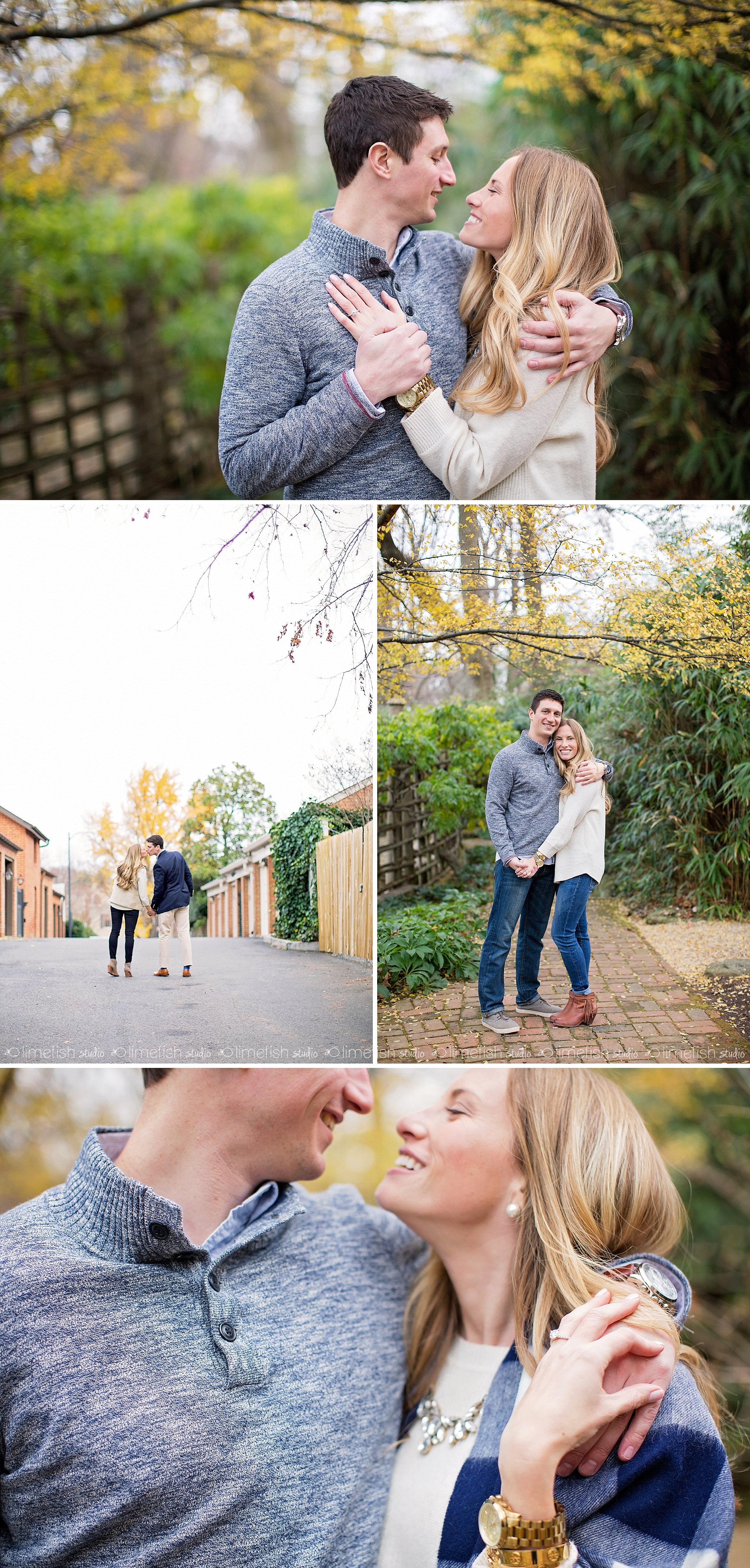 2016 Erik Ashley Georgetown Engagement Session | DC Photograher | Limefish Studio Photography | Fall Winter